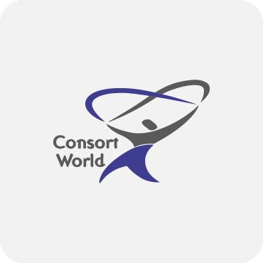 consort world logo